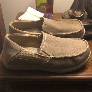Croc slip on dress shoes Croc brand 3j